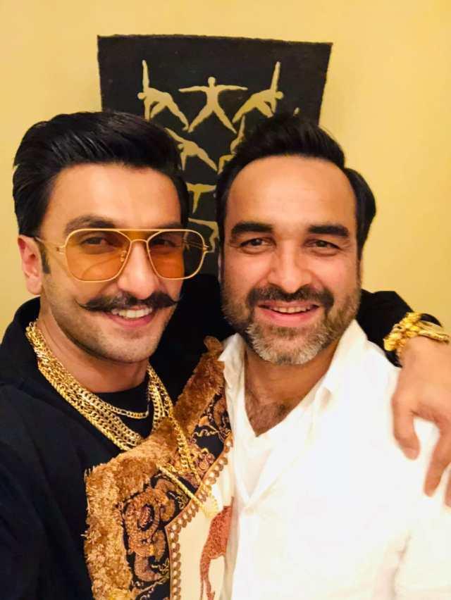 Ranveer Singh & Pankaj Tripathi