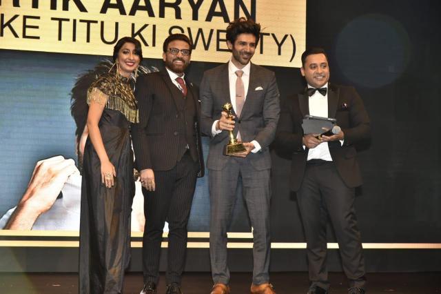 Kartik Aaryan wins big at Masala UAE Awards 2018