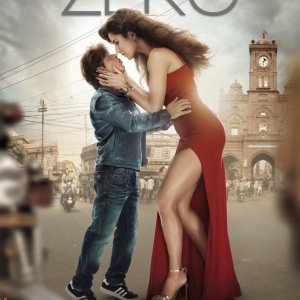 Katrina Kaif and Shah Rukh Khan in Zero