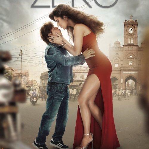 Katrina Kaif and Shah Rukh Khan in Zero