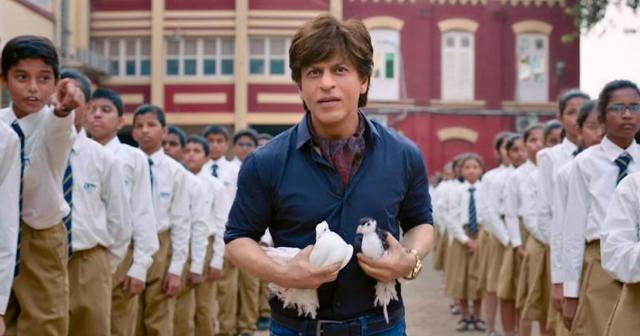 Shah Rukh Khan as a dwarf in Zero