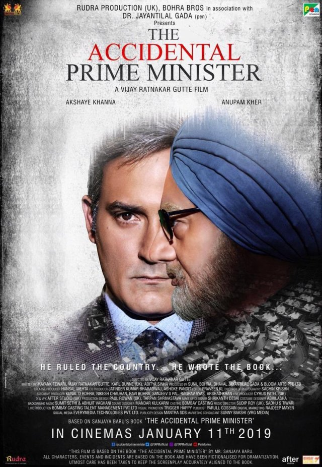 `The Accidental Prime Minister Poster