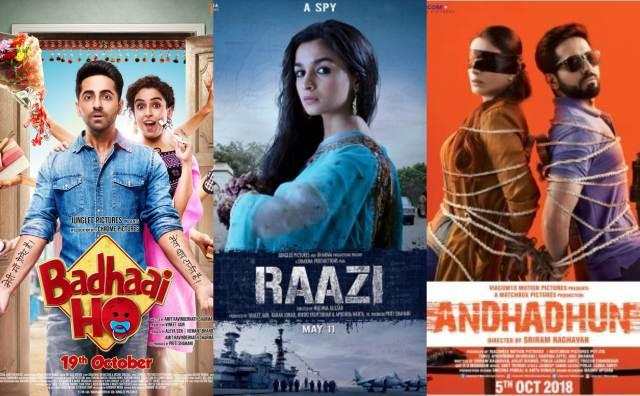Top 2018 Bollywood movies