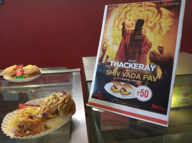 Thackeray - Shiv Vada Pav at Carnival cinemas
