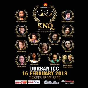A Durban favourite joins Kings and Queens of Comedy Line-Up