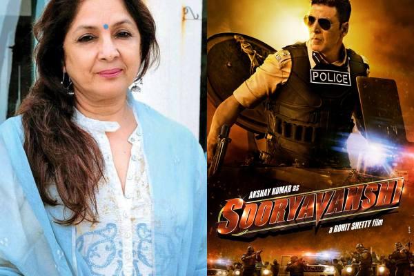 Neena Gupta To Play Akshay Kumar's Mom In Sooryavanshi