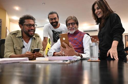 Shoojit, Ronnie Lahiri, Mr Bachchan and Juhi Chatturvedi