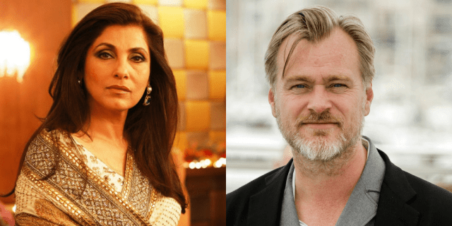 Dimple Kapadia-Christopher Nolan