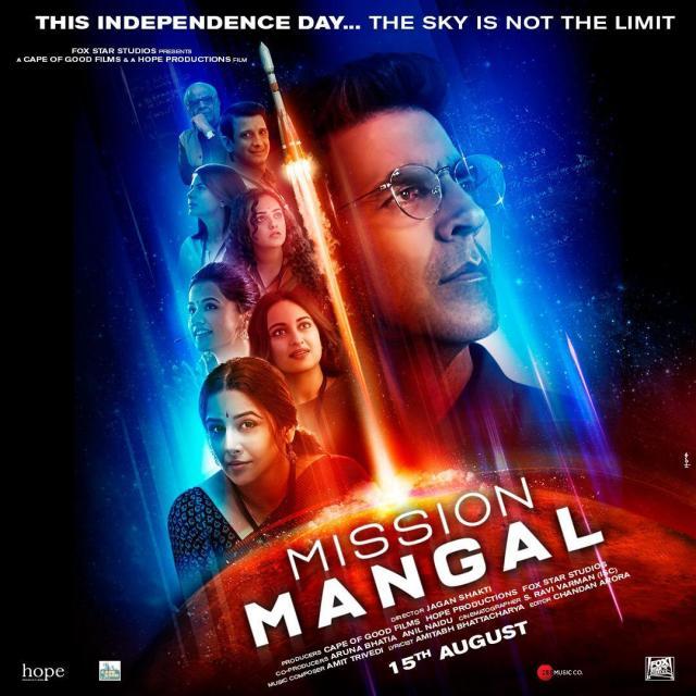 Akshay Kumar -Mission Mangal