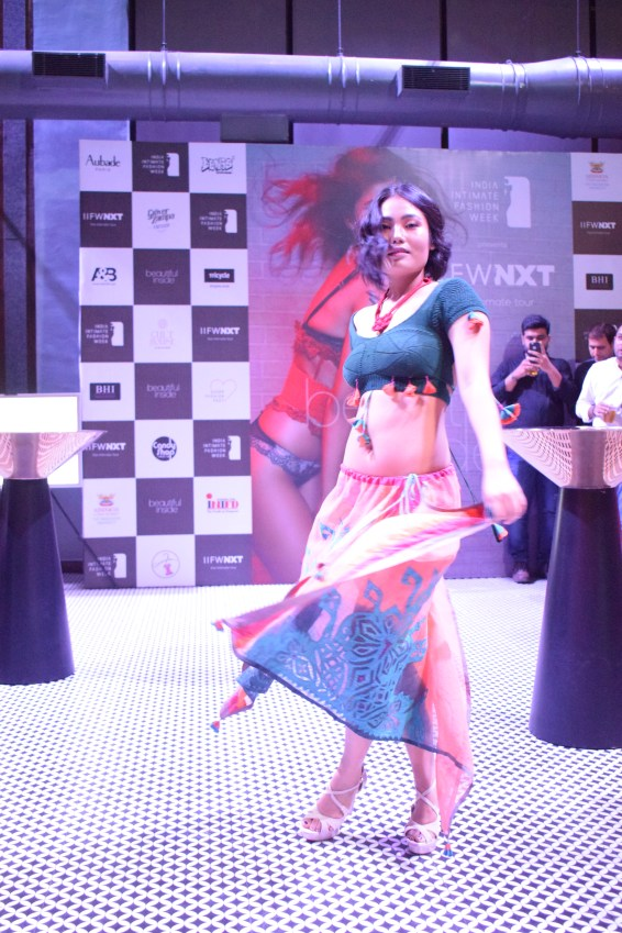 Models wearing designer Chhail Bihari Sharma and Maluaj Gangwar's beach wear line 'ABHISAR' (2)