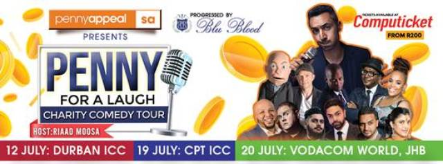 South Africa: A Penny For A Laugh - Laughter for Charity