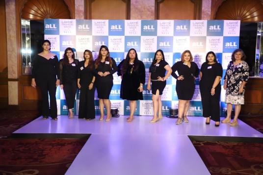 plus size aLL Lakme Fashion week 2019