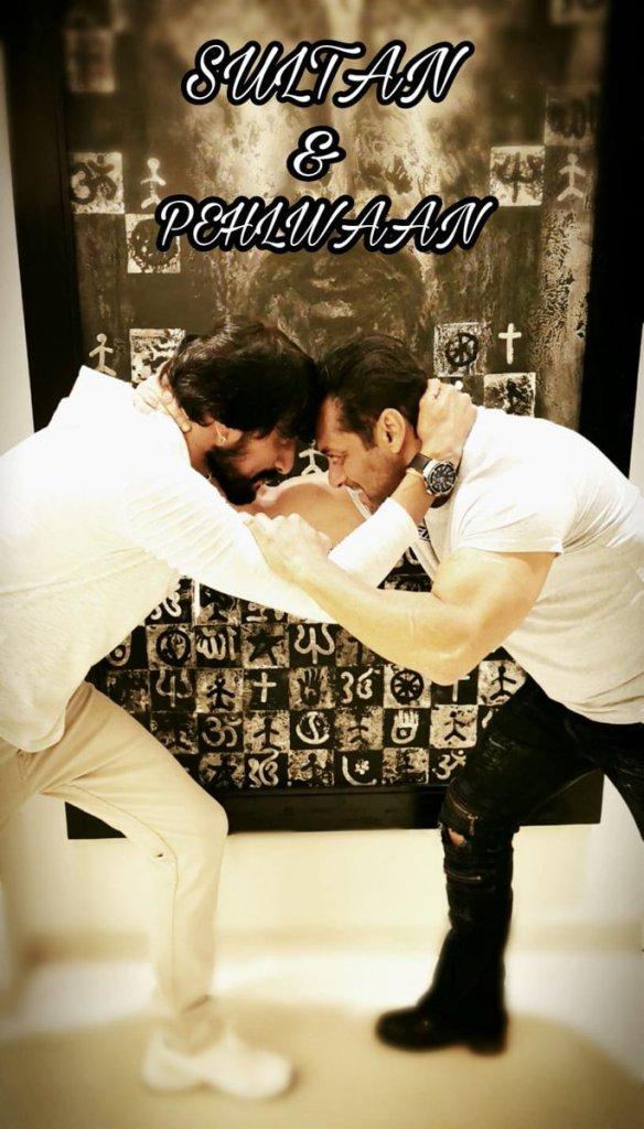 Salman Khan- Kichcha Sudeep