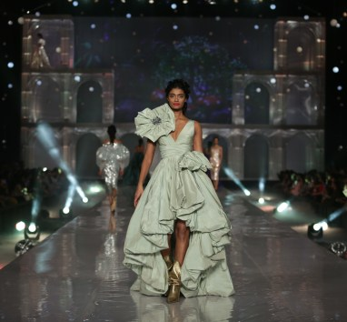 Model at Lakme Absolute Grand Finale for Gauri & Nainika at Lakme Fashion Week Winter Festive 2019- 2