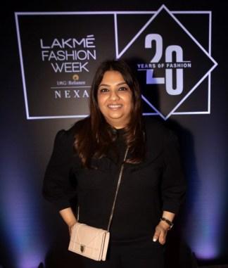 Pic 6- Designer Payal Singhal at Lakmé Fashion Week 20 years' celebration - Copy