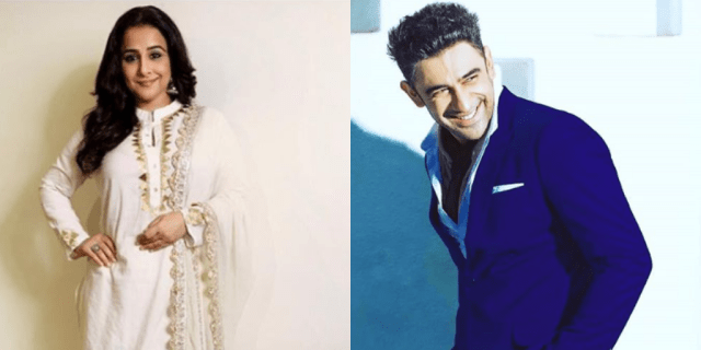 Vidya Balan & Amit Sadh To Work Together?