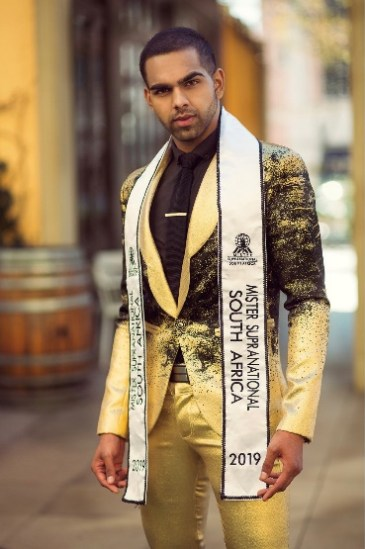 Rushil Jina Represents SA in The international Mister Supranational Competition