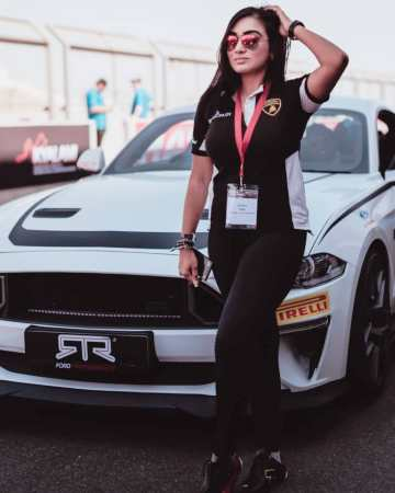 "Crown The Brown: Verushka Singh - ""Exotic cars are my passion!"""