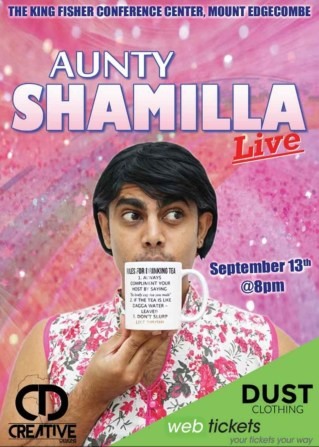Aunty Shamilla Brings The Heat to The Stage This September