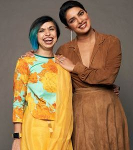 Shonali Bose and Priyanka Chopra Jonas