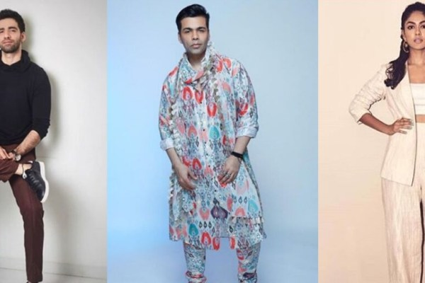 Mrunal Thakur & Avinash Tiwary In Karan Johar's Ghost Stories