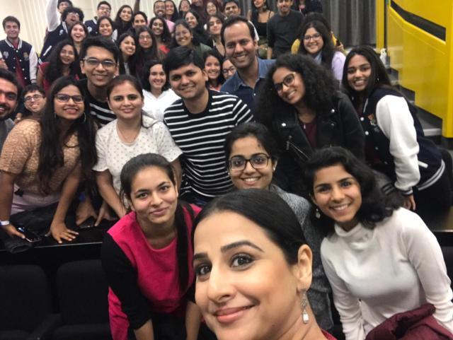 Vidya Balan makes heads turn in London!