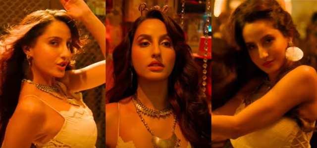 Nora Fatehi Looks Sizzling In Marjaavaan's Ek Toh Kum Zindagani
