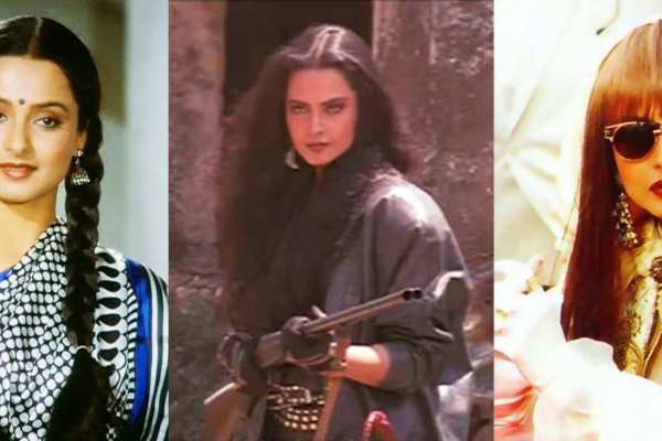 Rekha's on screen characters