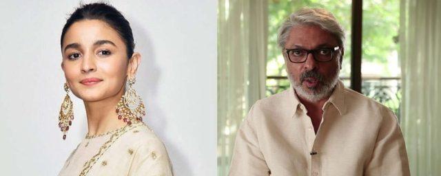 Alia Bhatt and Sanjay Leela Bhansali