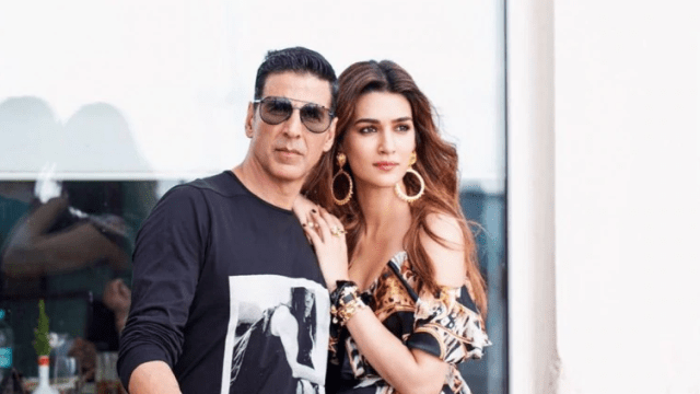 Akshay Kumar And Kriti Sanon
