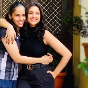 Parineeti Chopra And Saina Nehwal