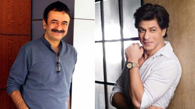 Shah Rukh Khan and RajKumar Hirani