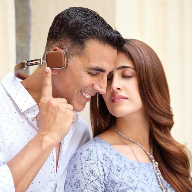 Nupur Sanon and Akshay Kumar