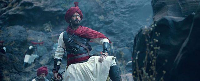 Ajay Devgn in Tahnaji The Unsung Warrior
