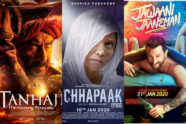 Big Bollywood Clashes of 2020