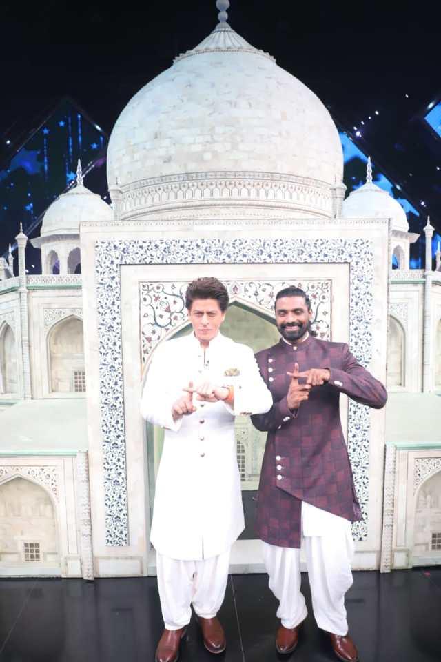 Shah Rukh Khan on Dance+5