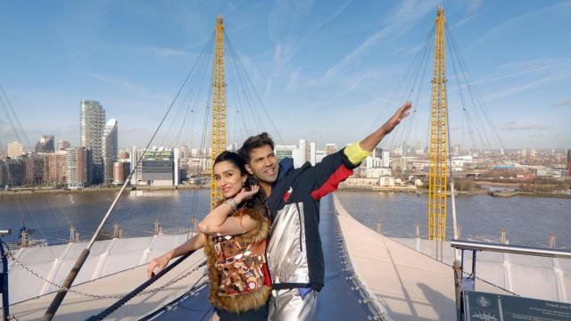 Shradha Kapoor and Varun Dhawan