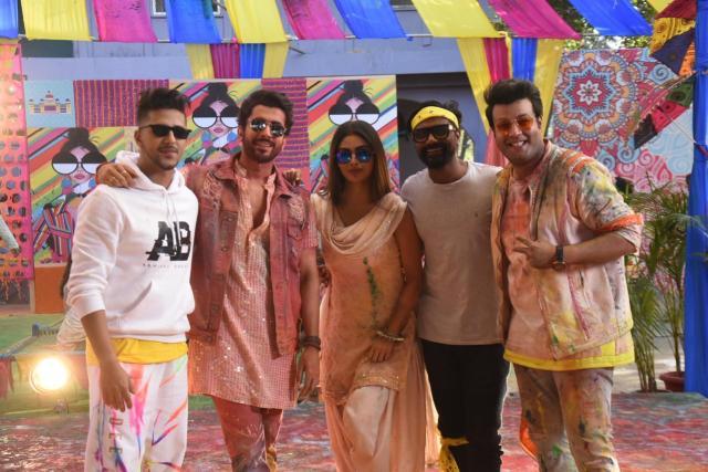Mouni Roy, Sunny Singh, Varun Sharma, Remo D'Souza