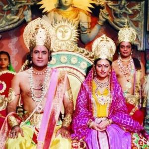 Watch Ramayan at Doordarshan