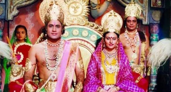 Watch Ramayan at Doordarshan