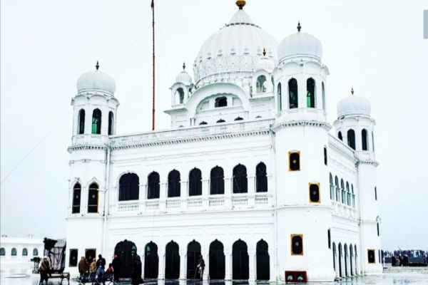 Gurdwara Kartarpur Sahib located in Pakistan.