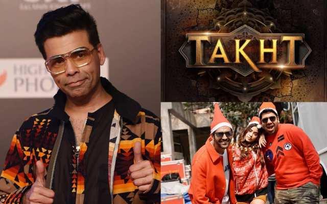 Karan Johar's Takht And Dostana 2 To Be Dropped