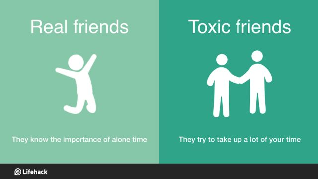 Real vs. Toxic Friends