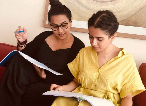 Vidya Balan and Sanya Malhotra for Shakuntala Devi