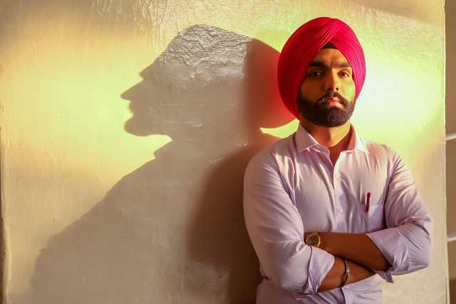 Ammy Virk in a still from Main Suneya