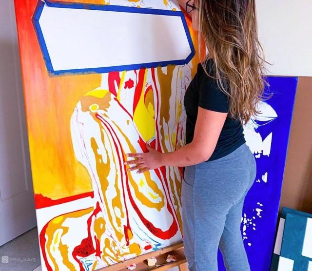 Pratiksha Muir paints another masterpiece.