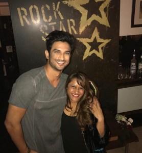 Sushant Singh Rajput and Rohini Iyer