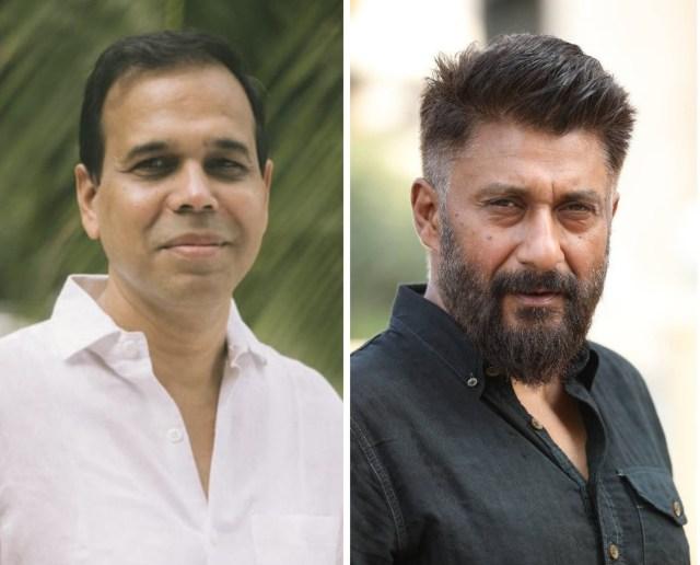 Sandesh Shandilya and Vivek Agnihotri