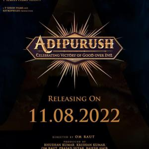 Prabhas And Saif Ali Khan Starrer Adipurush To Release On Independence Day Weekend 2022