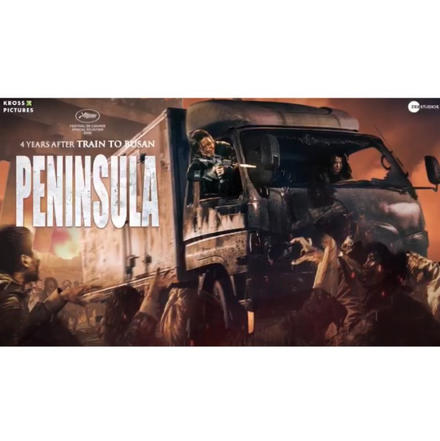 "Korean Zombie Thriller ""Peninsula"" To Release On THIS Date"